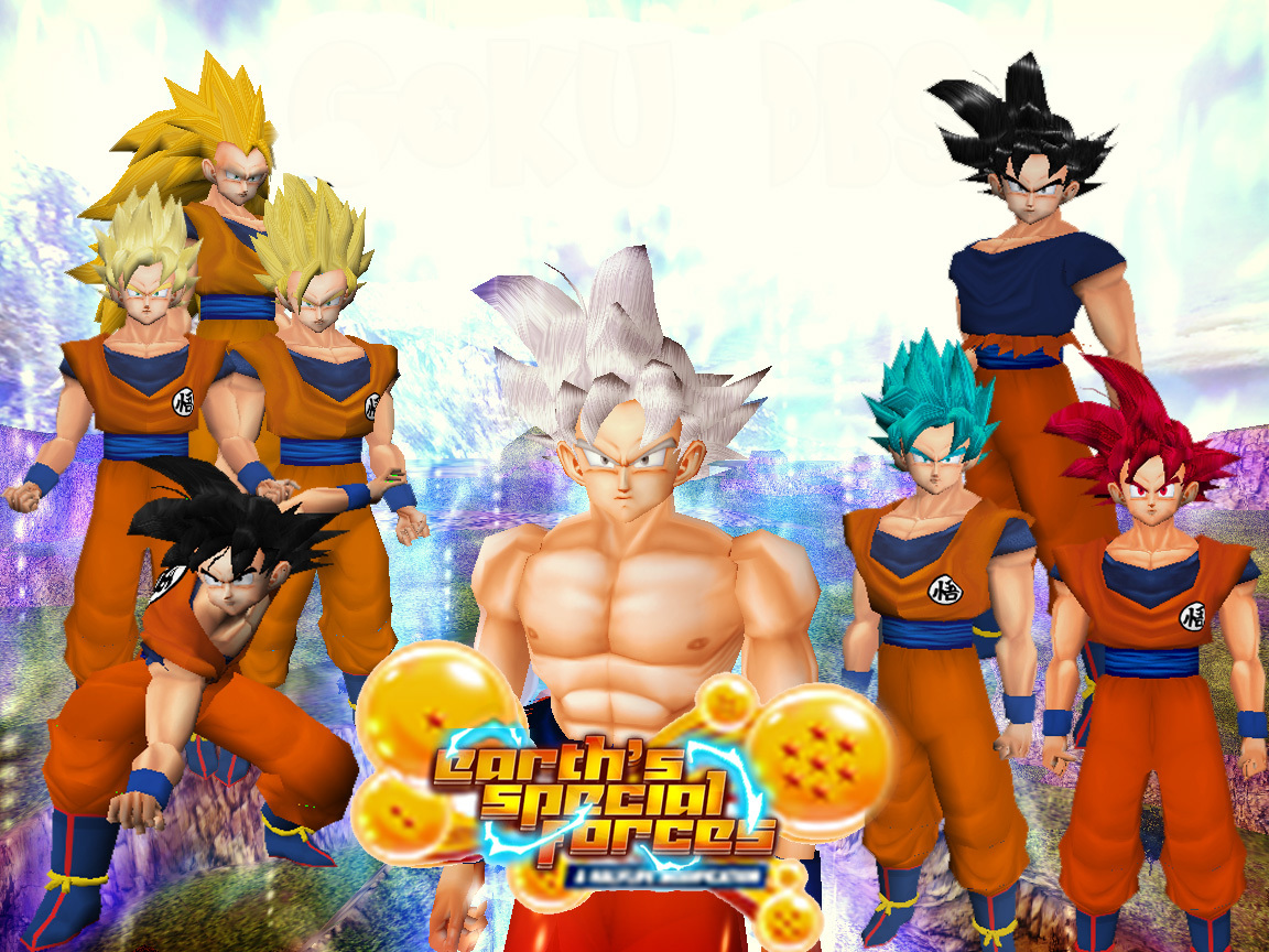 [Amxx] Goku DBS (All Forms) by Matias_Esf & Joon670  8EF