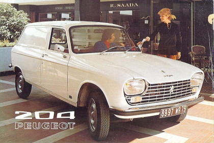 Peugeot 204 Fourgonnette del año 1972 published in Archivo de autos
