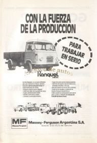 Ranquel 3,6T del año 1989 published in Autos y motos