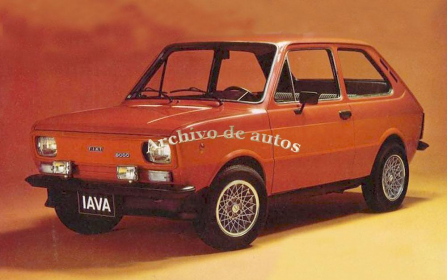 Fiat 133 IAVA 1979 published in Archivo de autos
