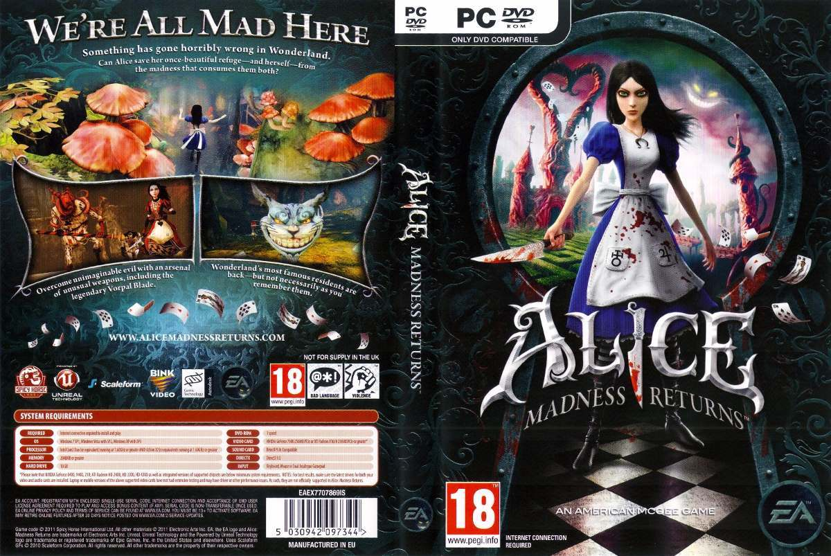 Solucionar todos los errores de Alice Madness Return [PC]