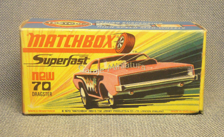 Dodge Dragster a la Matchbox published in Archivo de autos
