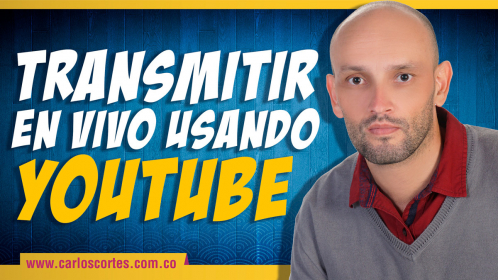 ¿Cómo transmitir en vivo usando Youtube? Tutorial en español published by carloscortesp
