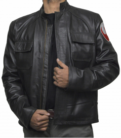 The Jasperz Star War The Last Jedi Poe Dameron Real Leather Jacket by  published by MeganShirley