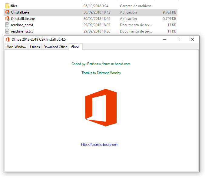 Office 2019 Version 1808 (Build 10730 20102) RETAIL - W