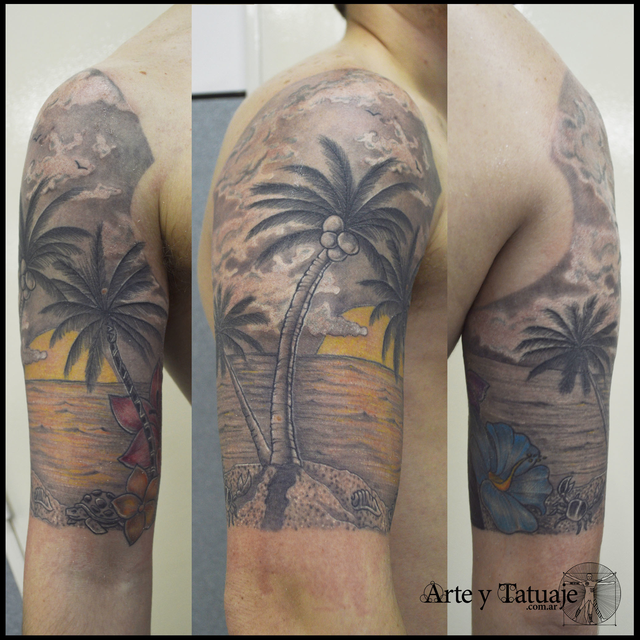 Tatuaje de playa, co...