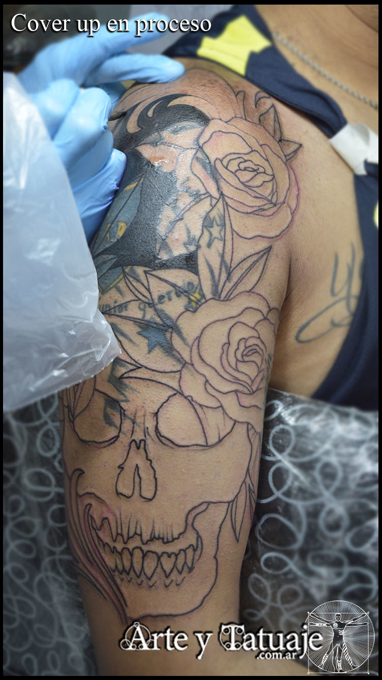 Cover Up en proceso,...