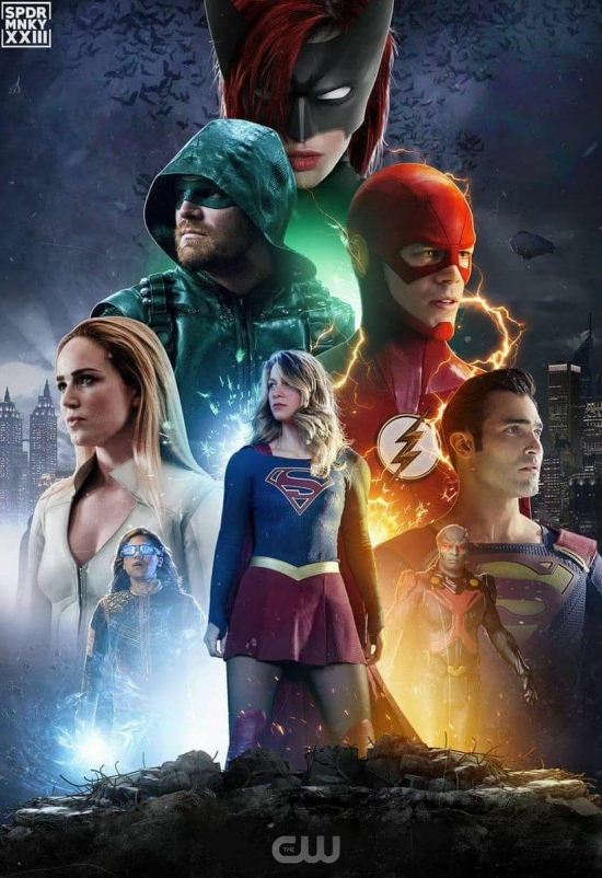 #calabozodelandroide #Batwoman #Supergirl #TheFlash #Arrow #LegendsOfTomorrow #CrisisTierrasInfinitas #DC #comunidadcinefila El...