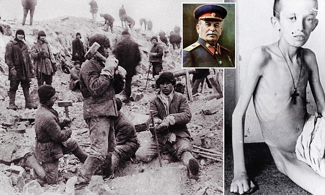 Stalins forced labour camps