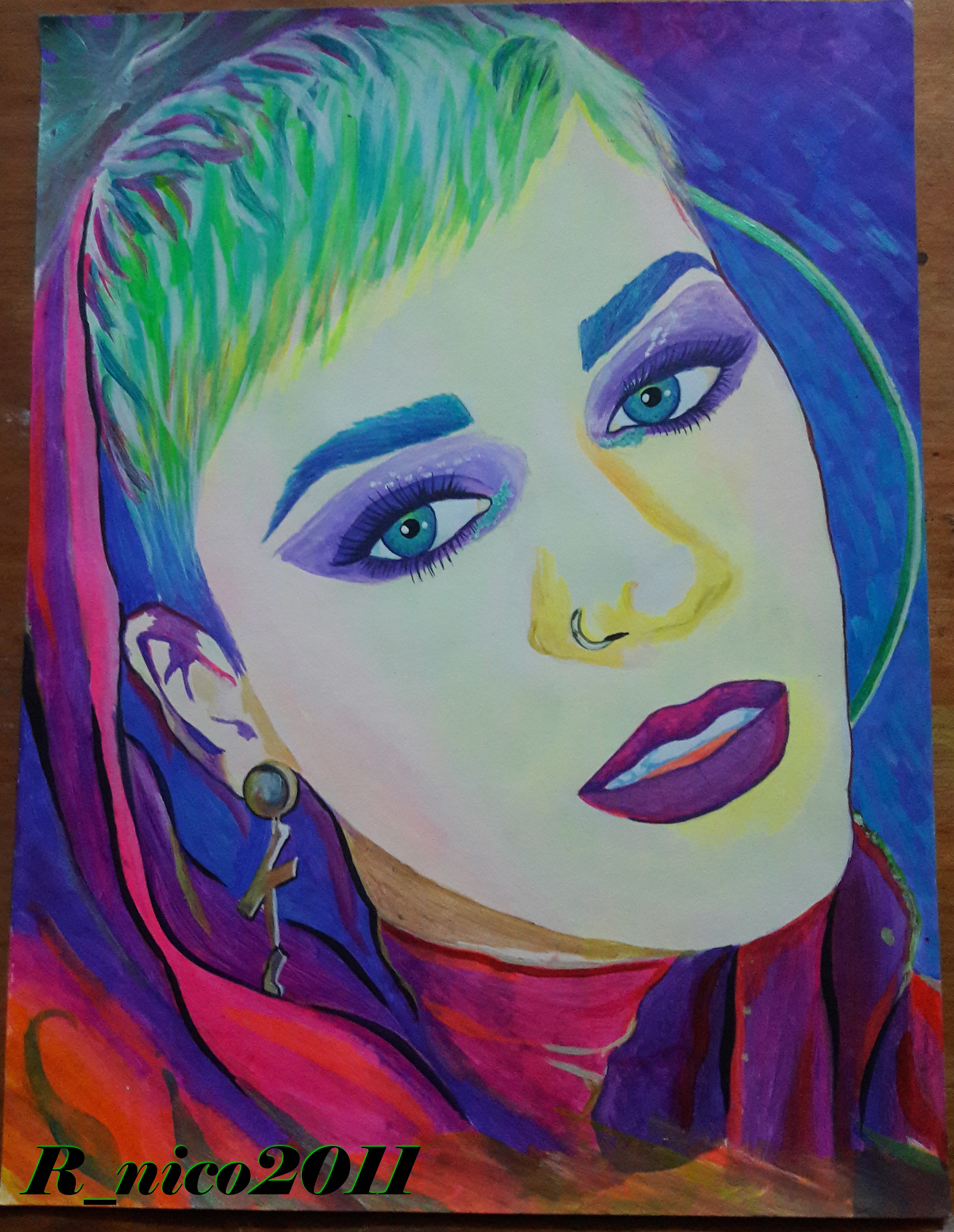 Katy Perry colores 7°