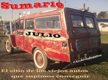 Sumario de julio de 2020 published in Archivo de autos