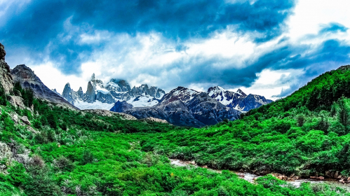 Fitz Roy - Patagonia Argentina 🇦🇷  published by _Iker10_