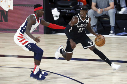 Los 34 Nets de Caris LeVert superan a los Wizards, 118-110 published by CCCYING