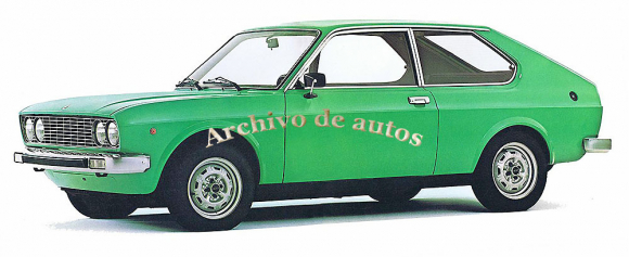 La cupé del Fiat 128 published in Archivo de autos