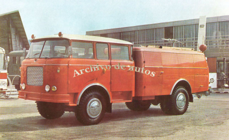 Škoda 706 RTHP CAS 25, autobomba checoslovaco published in Archivo de autos