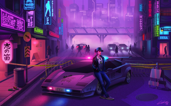 [DESCUBRIENDO MÚSICA] Me puse a escuchar Synthwave published in Música