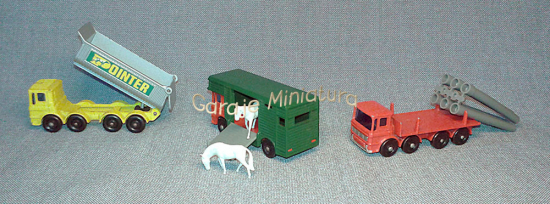 Camiones AEC y Leyland de Matchbox published in Autos y motos
