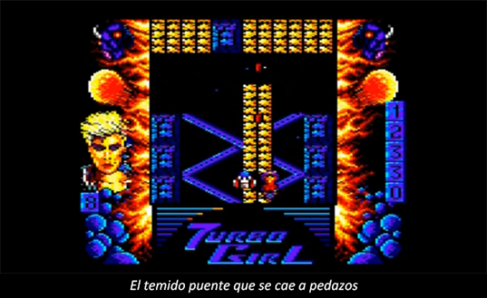 Retrogaming: Turbo Girl published in Juegos