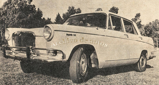 SIAM Magnette 1622 1965 published in Archivo de autos
