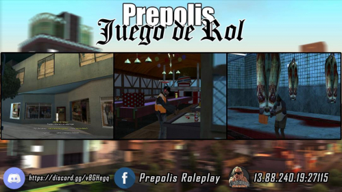 Prepolis Roleplay (v.0.0.3) published by Alan_LopezVC