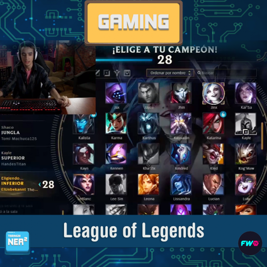 Gaming - League of Legends published in Ner2