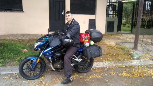 Viaje en moto - NS 200 published by __D1__