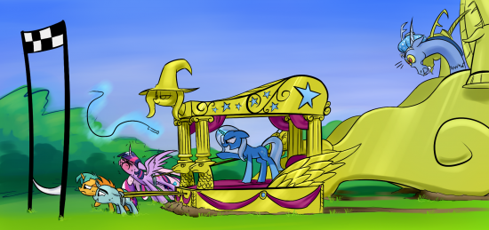 Juego de My Little Pony Racing is Magic published in Juegos