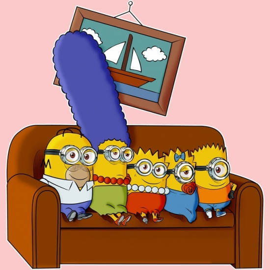 Memes, images and stories on the channel Los Simpson
