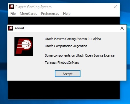 Players Gaming System v. 0.3 (UI para retroarch) published in Juegos