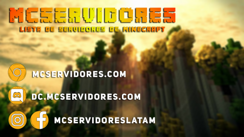 MCServidores.com published in Servidores Minecraft