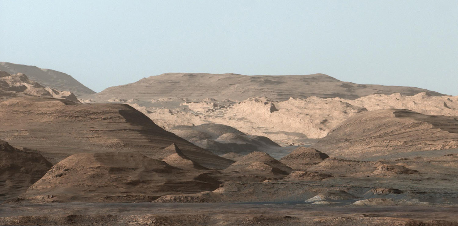 Curiosity confirma que Marte era habitable