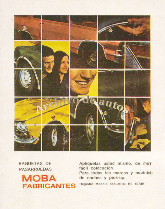 MOBA y sus pasarruedas published in Autos y motos