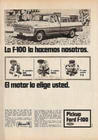 Ford F-100 de 1971 de Ford Motor Argentina published in Archivo de autos