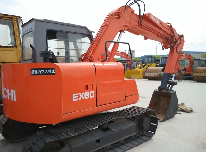 Hitachi Ex60 excavator equipment parts manual