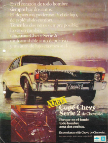 Chevrolet Chevy Serie 2 de General Motors Argentina published in Archivo de autos