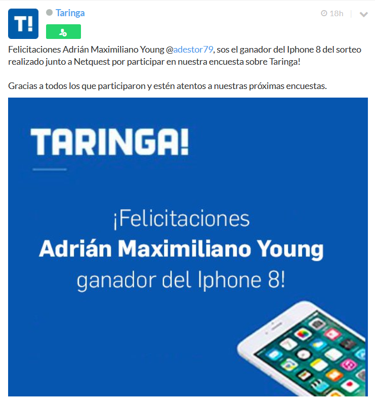 El sorteo del Iphone es dudoso (TOP)