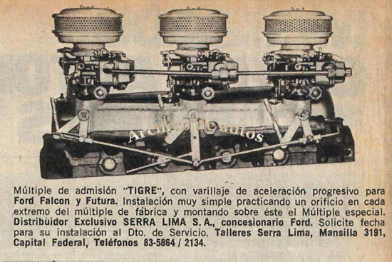 Los kits de Serra Lima published in Archivo de autos