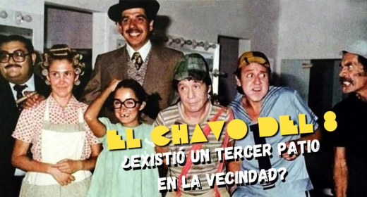 "📌 El misterioso tercer patio de ""El chavo del 8"" published in TV, películas y series"