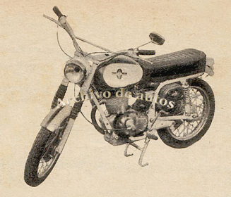 Gilera 185 Spring Country TC 1968 published in Archivo de autos