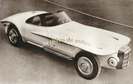 Mercer-Cobra Roadster, un auto único published in Archivo de autos